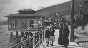 Austrian Riviera - Promenade in Opatija circa 1900