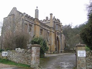 Grade I listed buildings in South Somerset - Image: Abbey Farmhouse Montacute