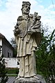 Abda, Nepomuki Szent János-szobor 2021 06.jpg