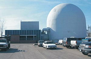 Aboveground Portion of the Piqua Decommissioned Reactor Complex and Auxiliary Building.jpg