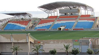 2015–16 Israeli Premier League - Image: Acre Municipal Stadium (11 April,2015).XIII
