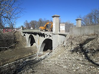 National Register of Historic Places listings in Adair County, Iowa - Image: Adair Viaduct