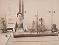 Adolfo Farsari (attributed) - A Woman Playing the Koto.jpg