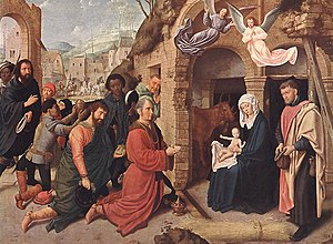 Isabella Breviary - Gerard David, Adoration of the Magi, München, Alte Pinakothek, inv. no. 715)