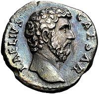 Denarius van een Romeinse keizerlijke prins (Lucius Aelius)
