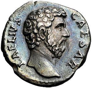 Lucius Aelius - Denarius of Aelius