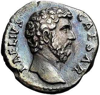 Lucius Aelius - Image: Aelius Denarius