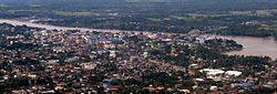 Aerial view of Butuan City, 2013