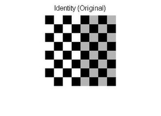 Digital image processing - Image: Affine Transformation Original Checkerboard