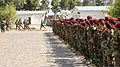 Afghan National Army soldiers with the 4th Special Operations Kandak stand in formation during an awards ceremony Aug. 8, 2013, at Shindand district, Herat province, Afghanistan 130808-A-PS725-020.jpg