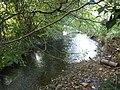 Afon Clun yn Rhiwsaeson.JPG