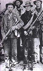Boer guerrillas during the Second Boer War