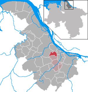 Agathenburg - Image: Agathenburg in STD