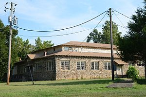 National Register of Historic Places listings in Marion County, Arkansas - Image: Aggie Hall