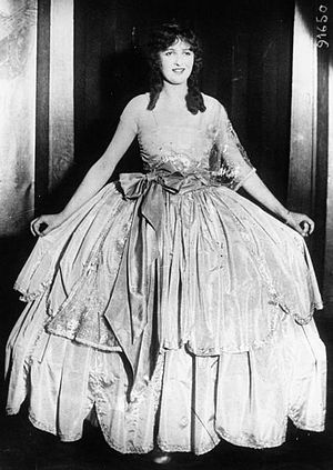 Agnès Souret - Agnès Souret in London after her election in 1920 as the first Miss France