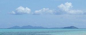 Agutaya - Agutaya island, and small Oco island in the forefront