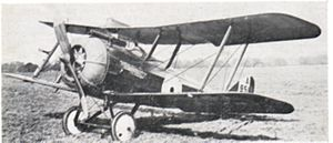 Airco DH.5 - A production DH.5