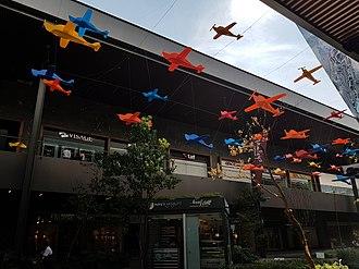 Antea LifeStyle Center - Airplanes in Antea Lifestyle Center mall