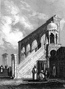 قباب المسجد الأقصى 220px-Al-Aqsa_Mosque_Terrace%2C_Illustration_for_La_Terre-Sainte_et_les_lieux_illustr%C3%A9s_par_les_ap%C3%B4tres%2C_by_Adrien_Egron%2C_1837_%286%29