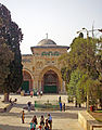 Al-Aqsa Mosque from Dome of the Rock steps.jpg
