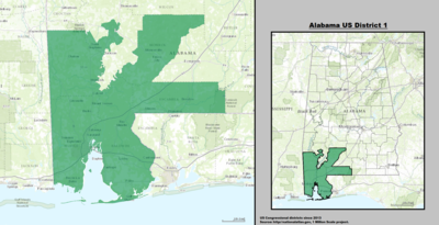 Alabama's 1st congressional district - since January 3, 2013.