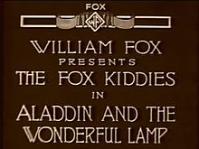 ファイル:Aladdin and the Wonderful Lamp (1917).webm