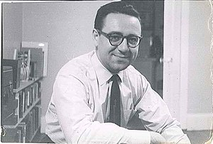 Alan A. Brown - Alan A. Brown, 1963, at his desk at the University of Southern California (USC)