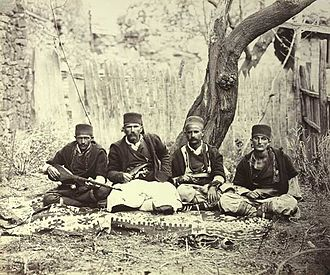 Albanians in North Macedonia - Albanians from Debar in 1863