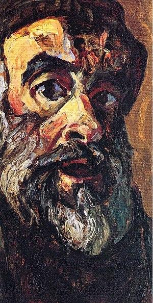 Alek Rapoport - Self-Portrait, 1990