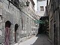 Aleppo strada vicino moschea Omayyadi - GAR - 5-02.JPG