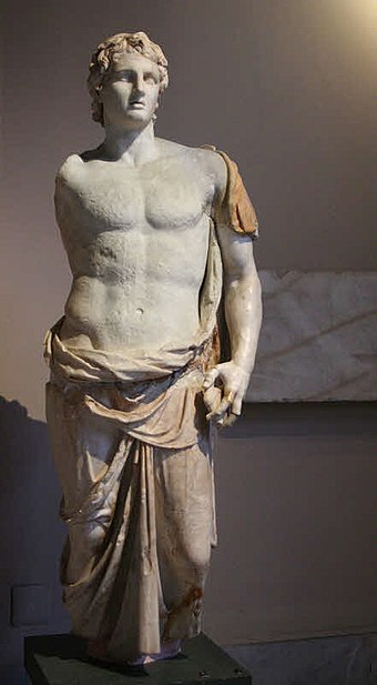 Statue of Alexander in Istanbul Archaeology Museum Alexander1256.jpg