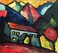 Alexej von Jawlensky - Ein Haus im Gebirge (ca. 1912).jpg