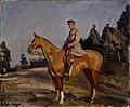 Alfred Munnings-Brigade Major Geoffrey Brooke DSO (CWM 19710261-0458).jpeg