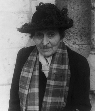 The Autobiography of Alice B. Toklas - Alice B. Toklas, photographed by Carl Van Vechten, 1949