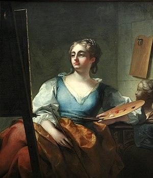 Claudio Francesco Beaumont - Beaumont's Allegory of Painting, at the Musée des Beaux-Arts de Brest.