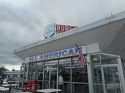 The All-American Hamburger Drive-In on Merrick Road in Massapequa