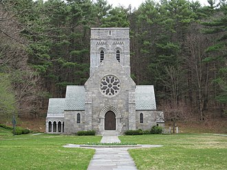 National Register of Historic Places listings in Hillsborough County, New Hampshire - Image: All Saints Church, Peterborough, NH
