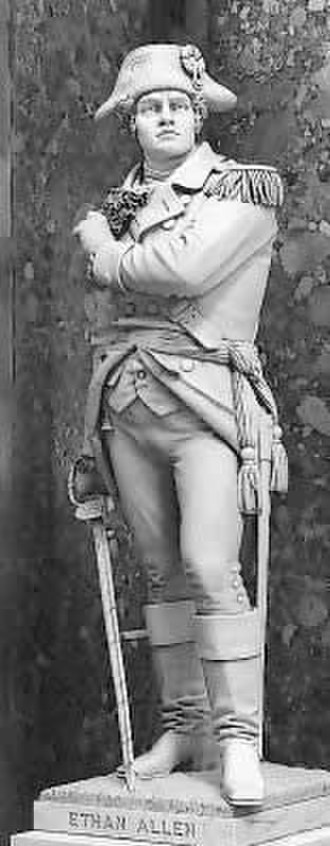 Ethan Allen (Mead) - The statue in the National Statuary Hall Collection