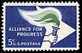 Alliance For Progress 5c 1963 issue U.S. stamp.jpg