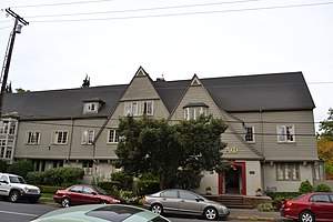 National Register of Historic Places listings in Lane County, Oregon - Image: Alpha Phi Sorority (Eugene, Oregon)