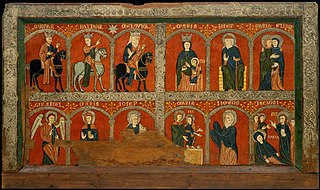 Altar frontal from Mosoll