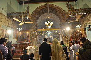 St Mary's Church, Angamaly - Altar room, Angamaly Syrian Church
