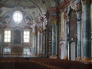Altenburg Abbey - Library