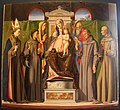 Alvise vivarini, madonna in trono e santi, da s.francesco a treviso.JPG