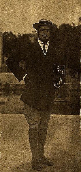 Amadeo de Souza Cardoso em Pont l'Abbé (Bretanha, França).