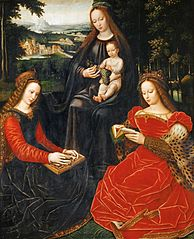 The Virgin and Child with Saint Catherine and Saint Barbara