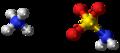 Ammonium sulfamate ions ball.png