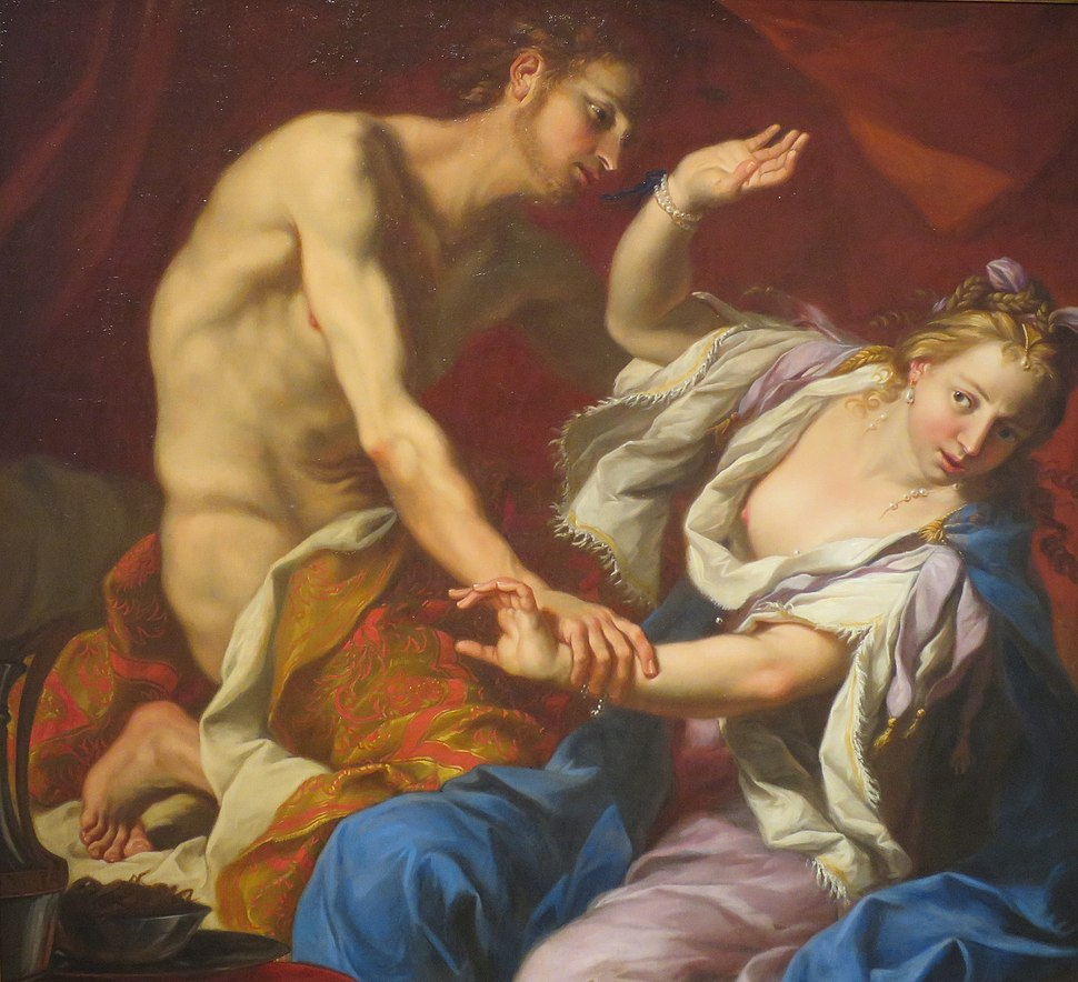 Amnon and Tamar by an unknown artist, oil on canvas, ca. 1650-1700, High Museum of Art