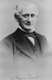 Amos Tuck, the namesake of the Tuck School