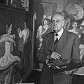 Amsterdamse kunstschilder wordt 85 jaar, Bestanddeelnr 912-0407.jpg